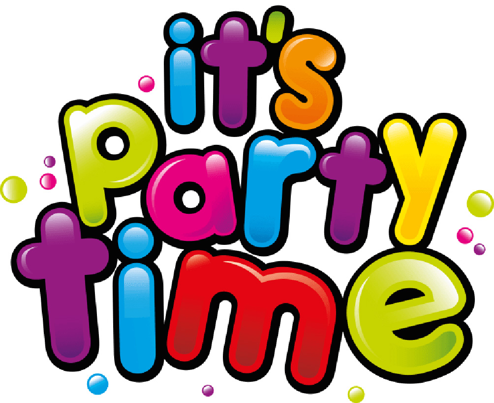 Party Time Party Time Logo Chain Lane Community Hub