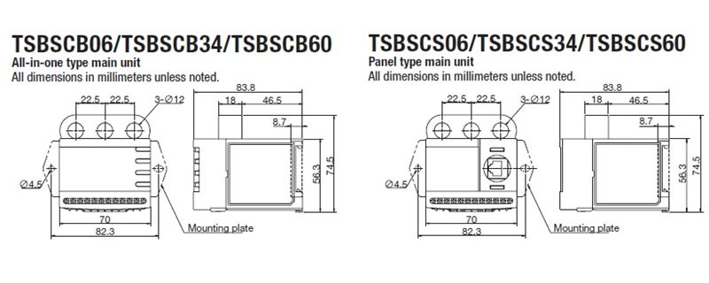TSBSC Shock Relay for Overload Protection On US Tsubaki Inc