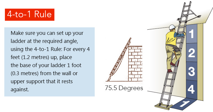 Types Of Ladders For Your Home Yard Chainsaw Journal