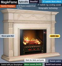 Best Electric Fireplace Reviews | Modern & Realistic ...