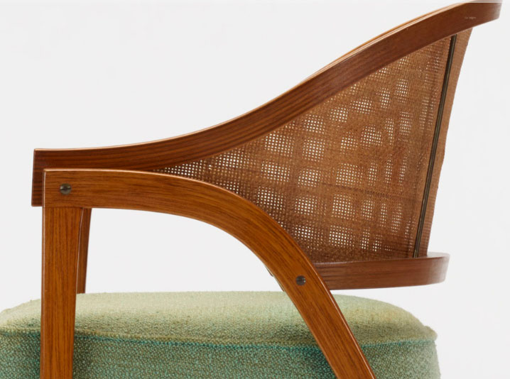 Set Of Two 5480 Armchairs By Edward Wormley Chairblogeu