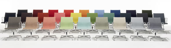 Breuer Sessel Vitra Aluminium Group Chairs Ea-108