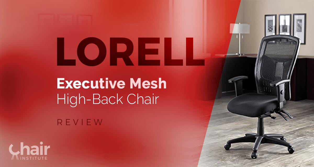 Lorell Executive High Back Chair Mesh Fabric Expert Event