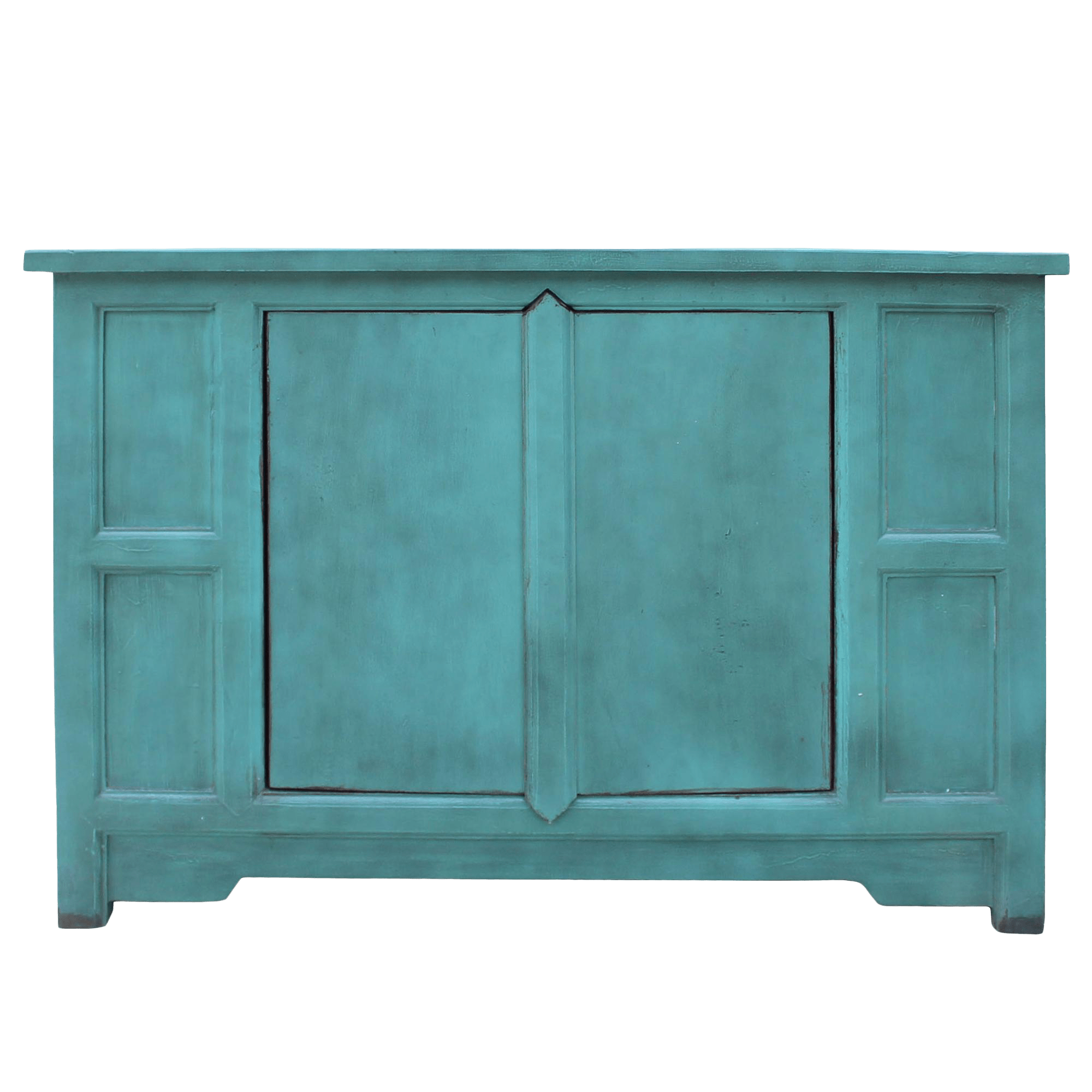 Sideboard Shabby Chic Simple Shabby Chic Rustic Light Blue Low Credenza Cabinet