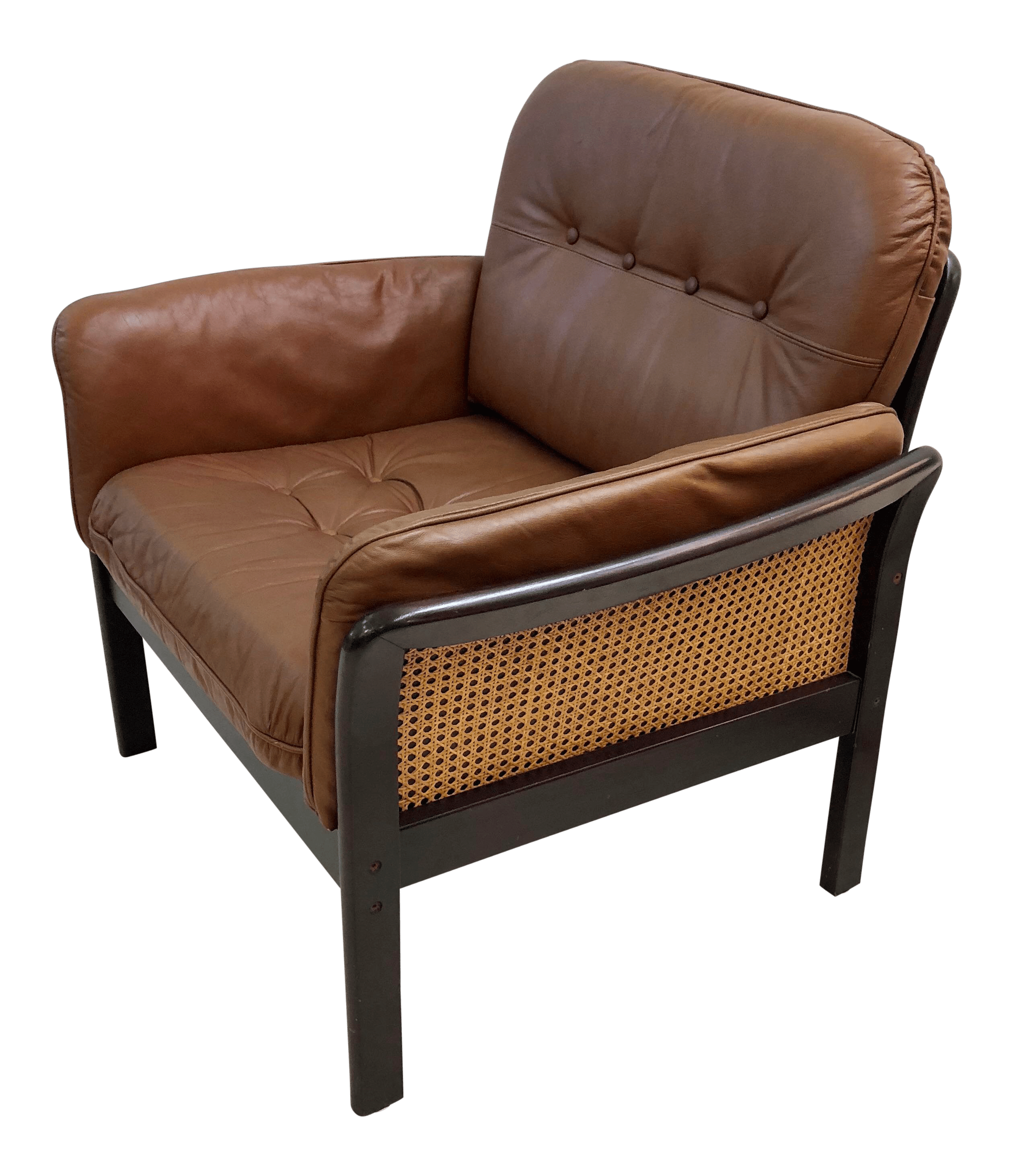 Leather Lounge Mid Century Danish Leather Lounge Chair