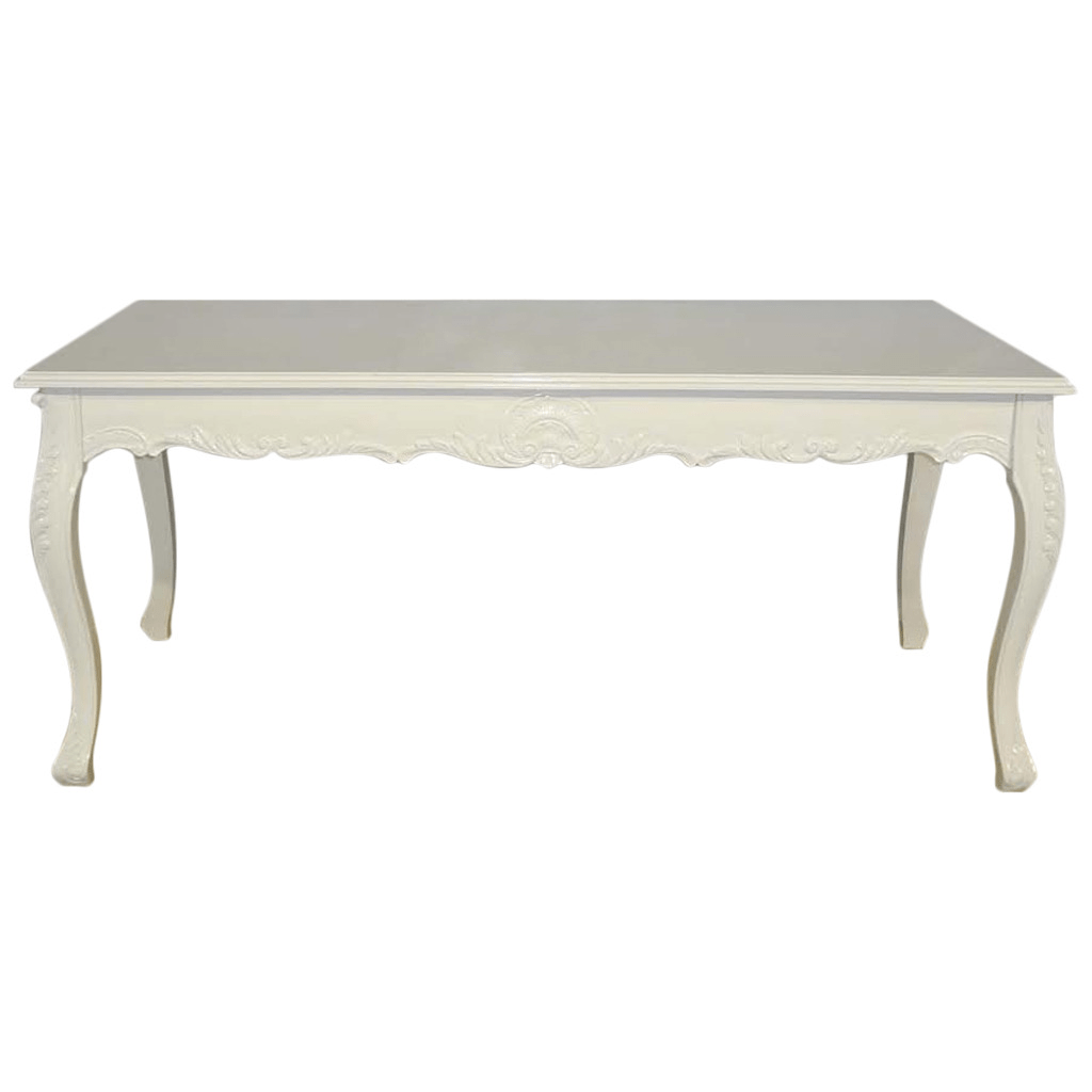 Esszimmer Louis Xv French Louis Xv Style White Dining Table