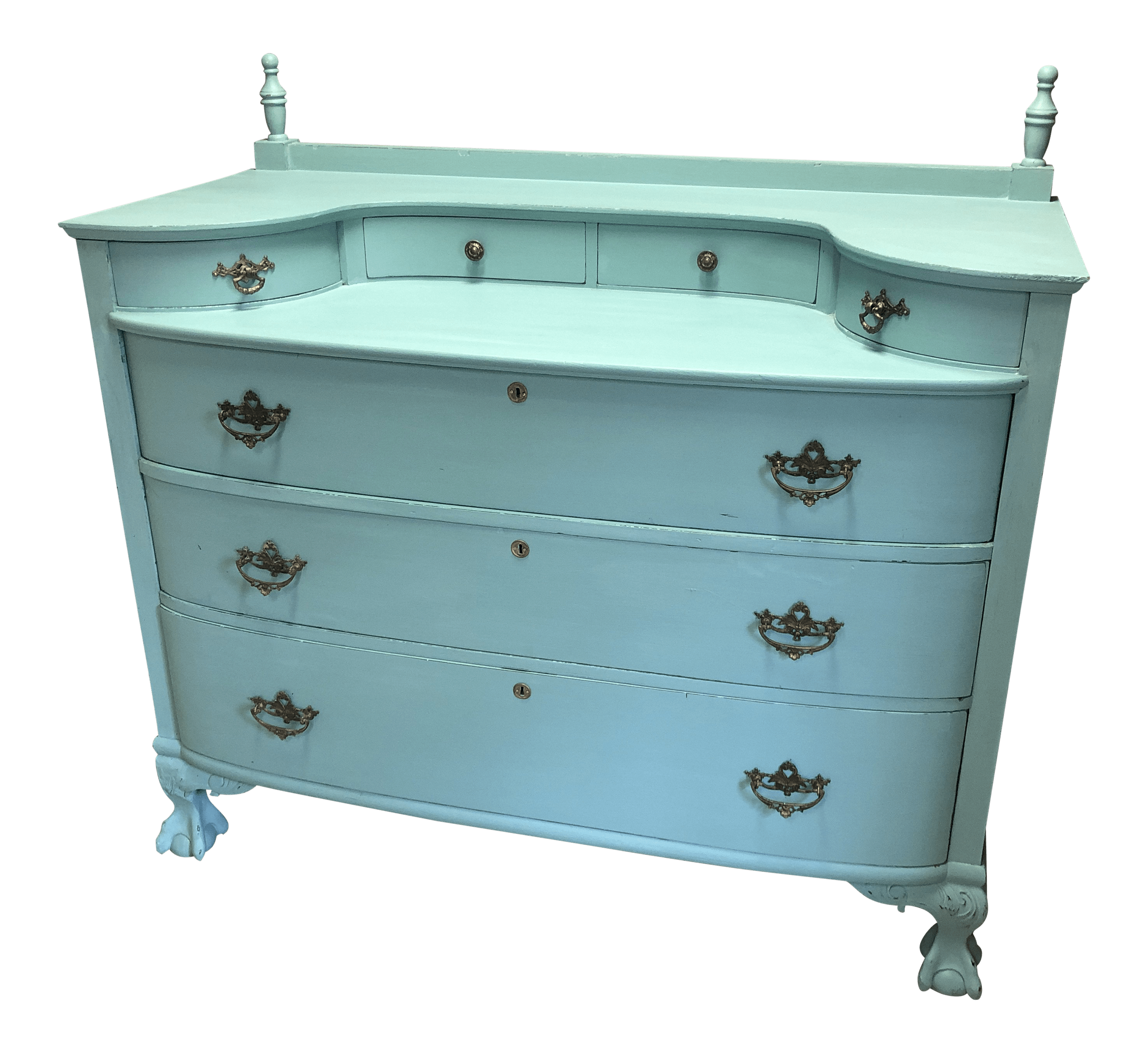 Sideboard Shabby Chic 1900s Shabby Chic Bow Front Dresser Sideboard Buffet