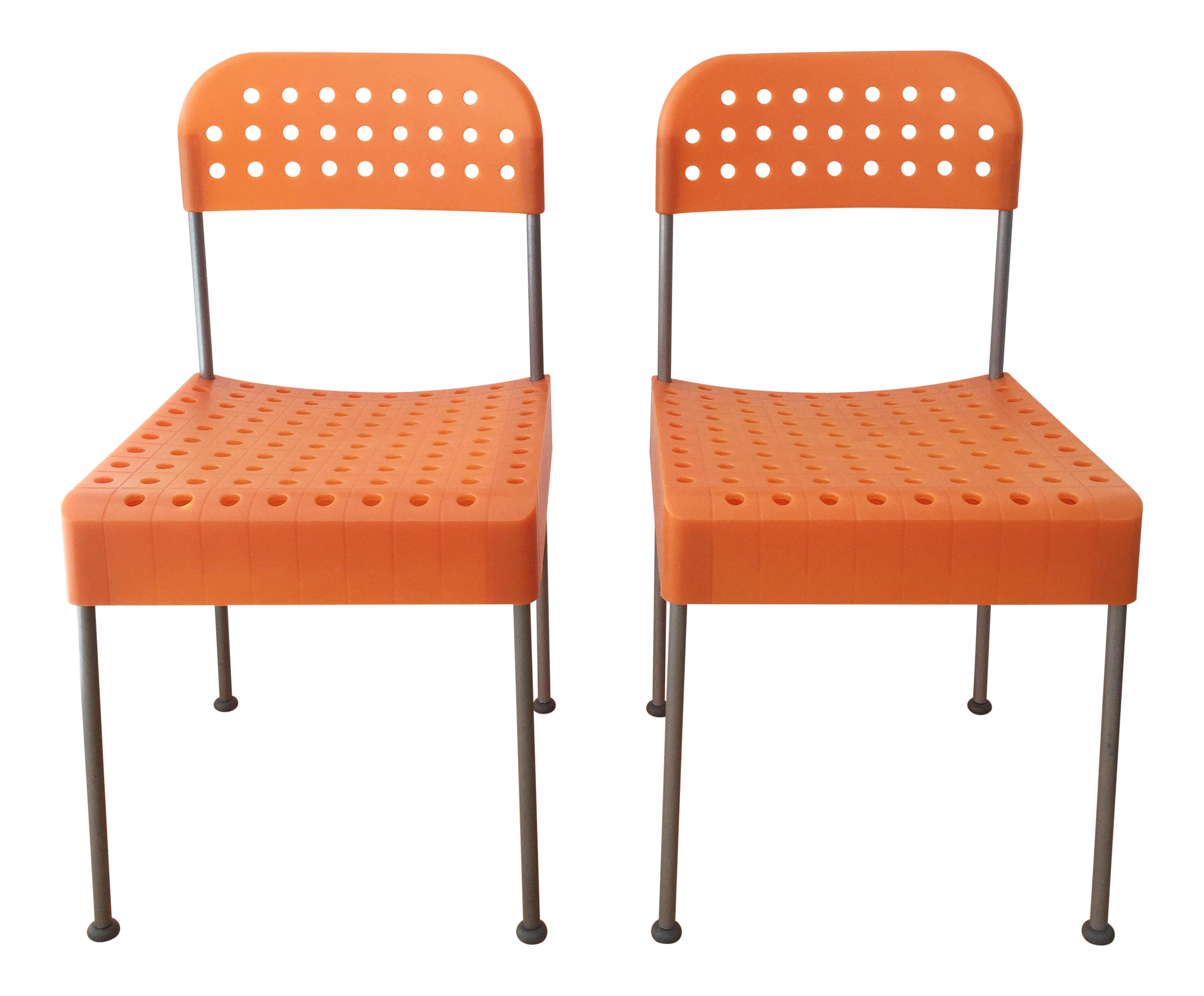 Collapsible Chair Late 20th Century Vintage Enzo Mari Box Chairs Produced By Aleph Atlantide Driade A Pair