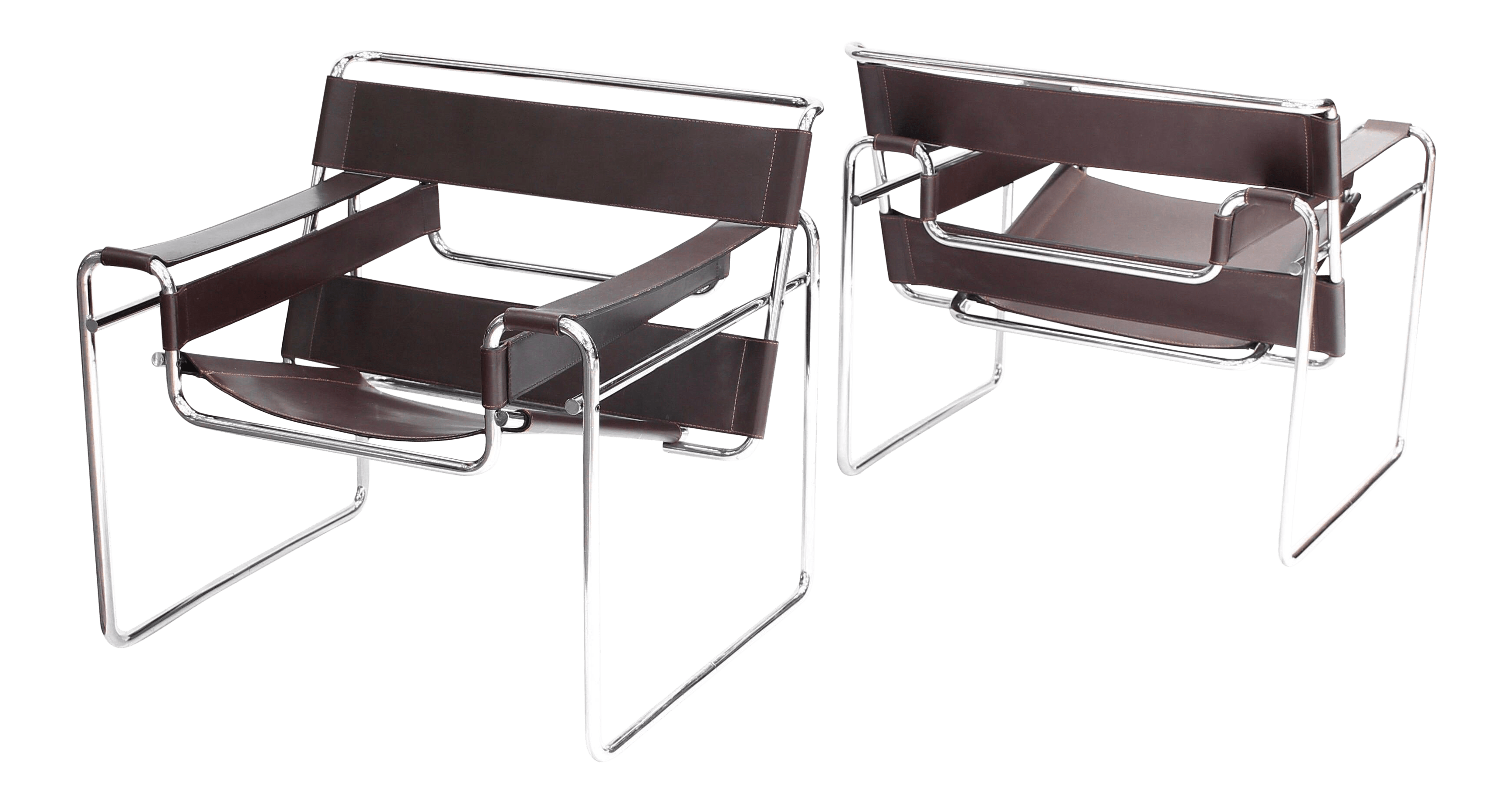 Wassily Chair Vintage Mid Century Modern Vintage Marcel Breuer For Knoll Wassily Chairs A Pair