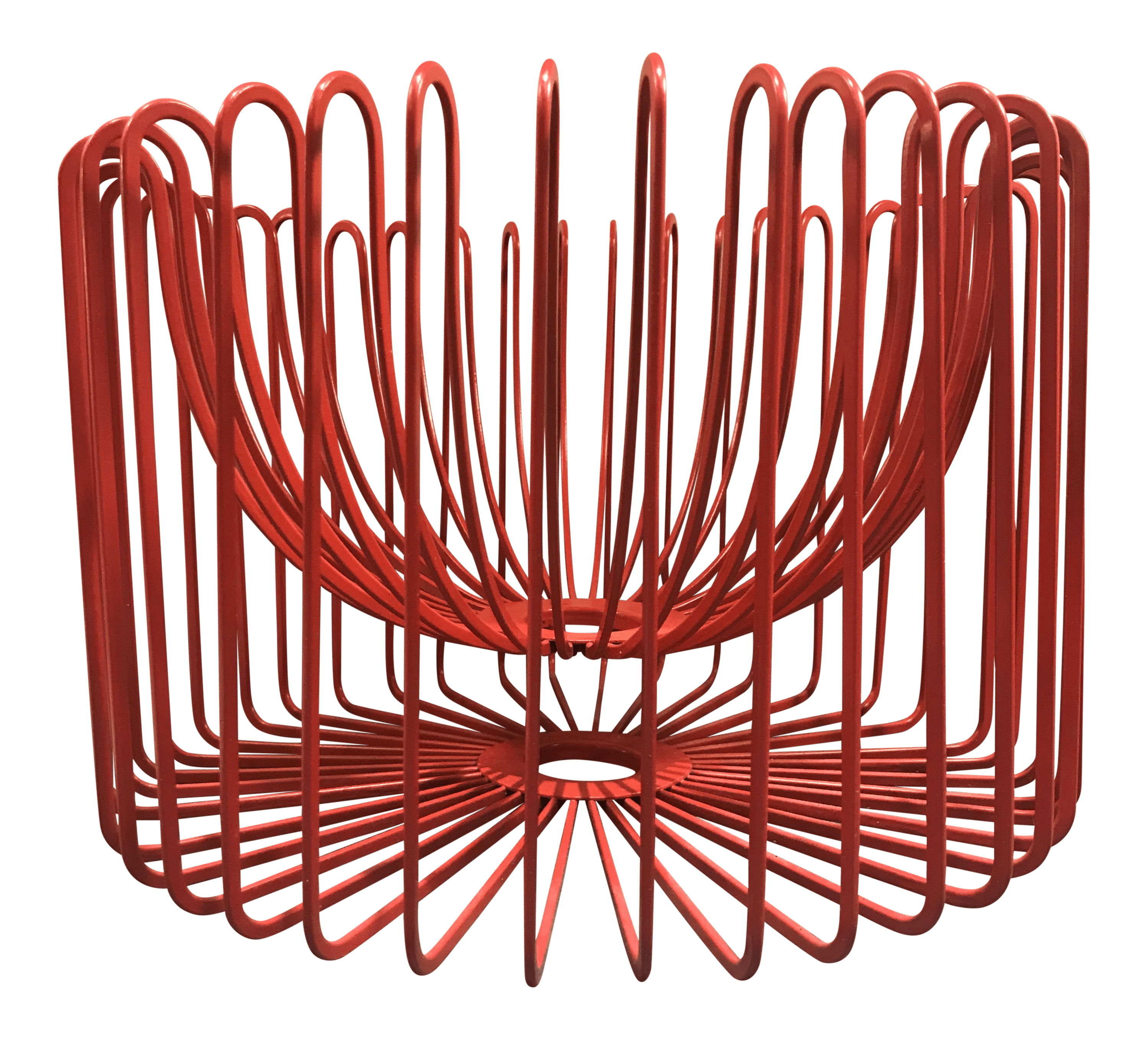 Wire Fruit Bowls Ehlén Johansson Red Wire Fruit Bowl