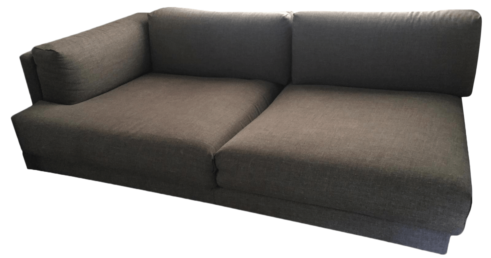 Divani Incanto Group Gray Divani Italian Sofa