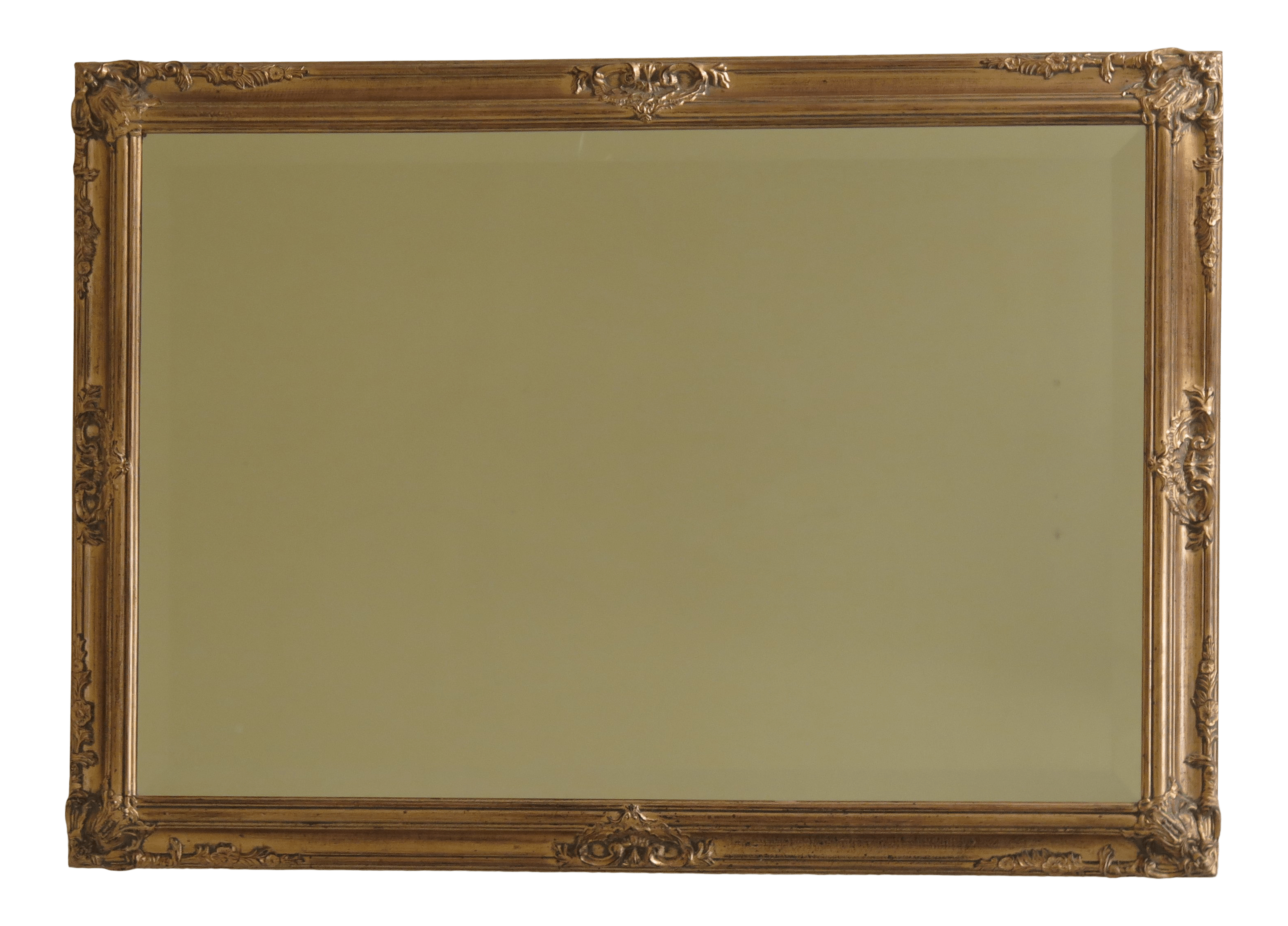 Decorative Mirror Gold Framed Decorative Mirror With Beveled Glass