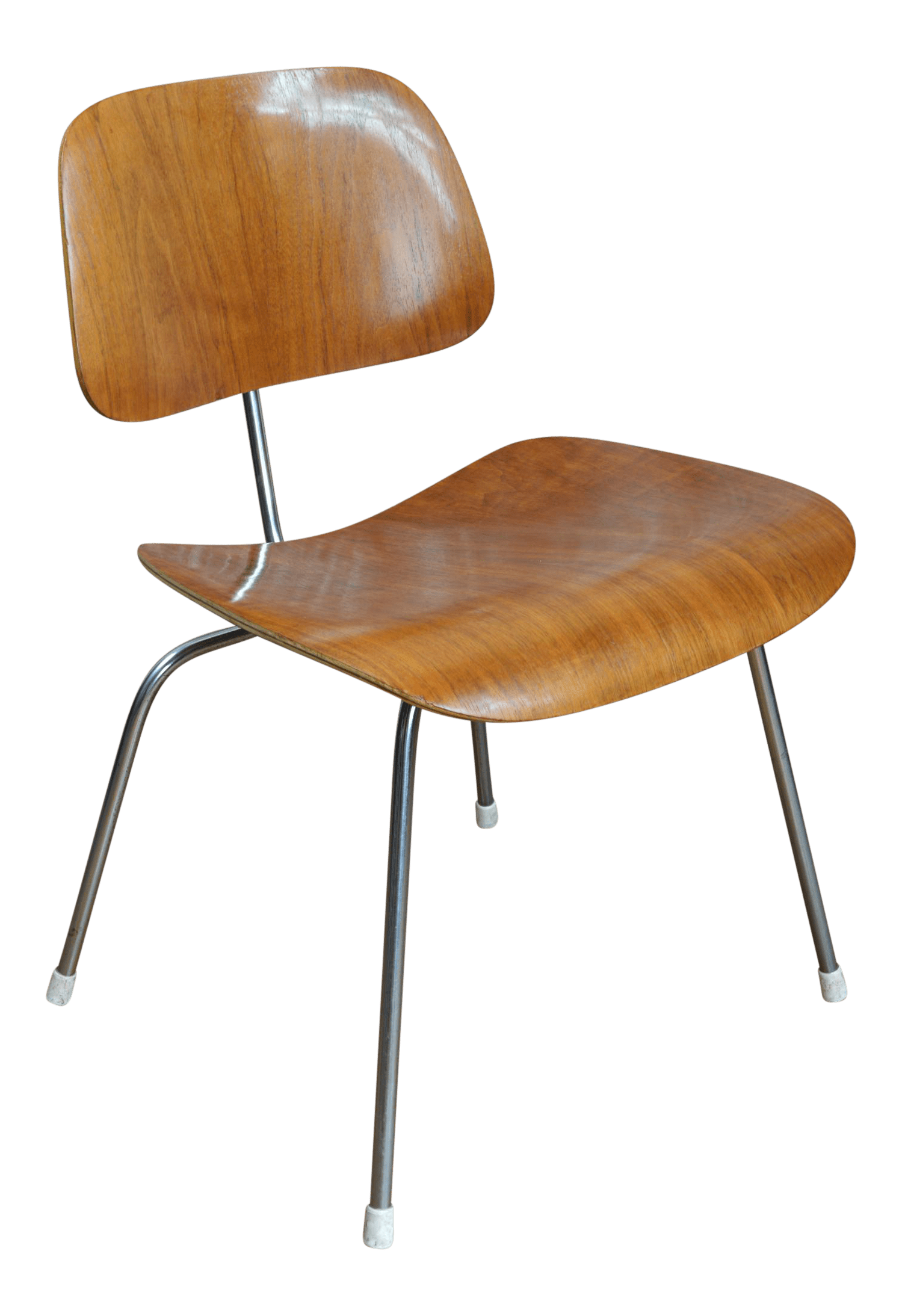 Eames Plywood Chair Vintage Mid 20th Century Eames Dcm Molded Plywood And Chrome Chair