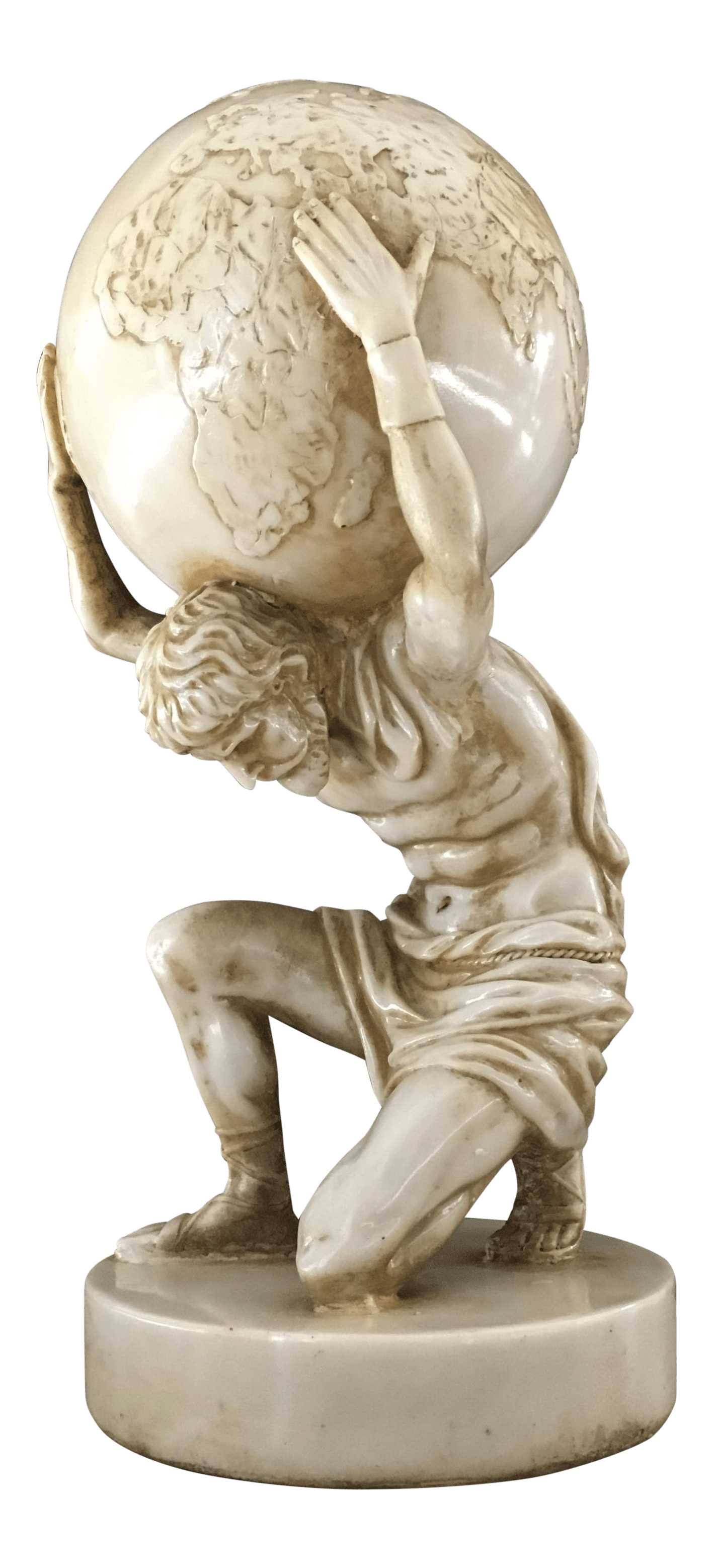 Atlas Statues For Sale Vintage Greek Titan Atlas Sculpture Chairish