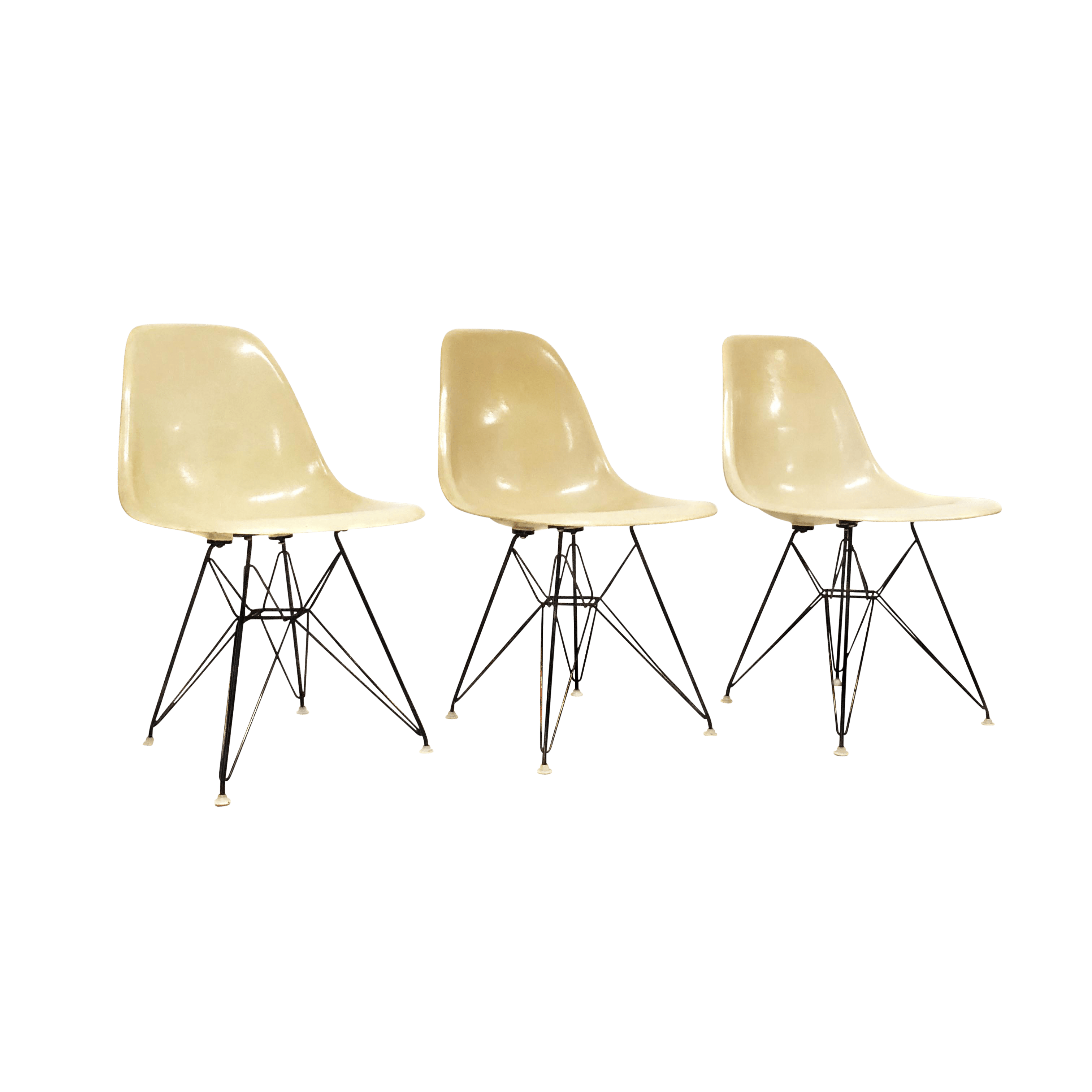 Eames Eiffel Mid Century Modern Signed Charles Eames For Herman Miller Eiffel Shell Chair