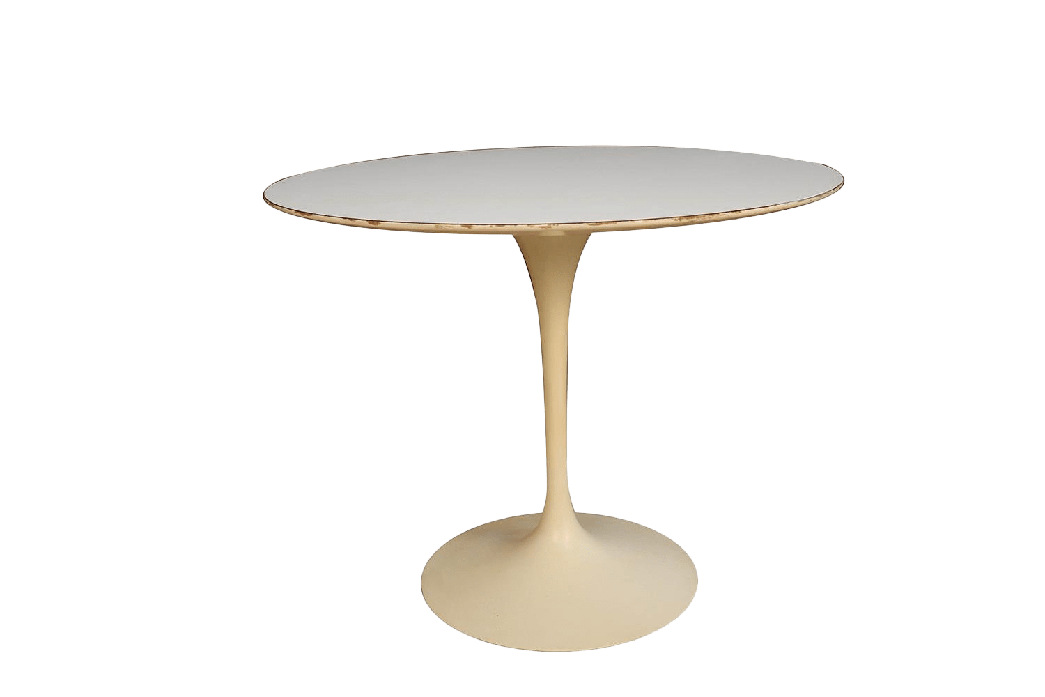 Knoll Table Early Knoll Mid Century Vintage Round Saarinen Tulip Table