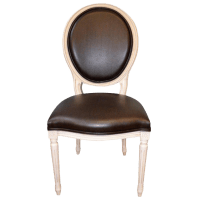 World-Class Louis XVI Style Oval Back Dining Chair for ...