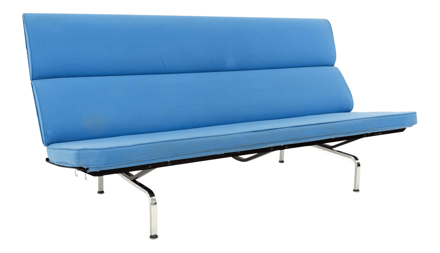 Sofa X Long Eames For Herman Miller Mid Century Modern Compact Daybed Sofa