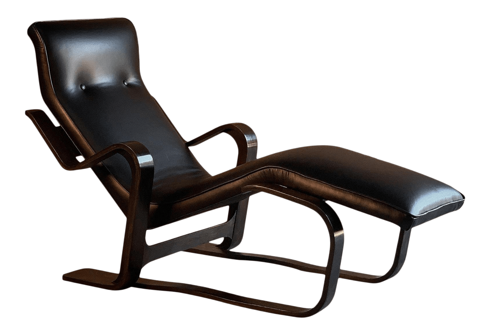 Marcel Breuer Long Chair Chaise Lounge By Isokon Circa 1970 Bauhaus Midcentury Chairish