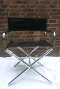 Mid-Century Director's Chair   Chairish