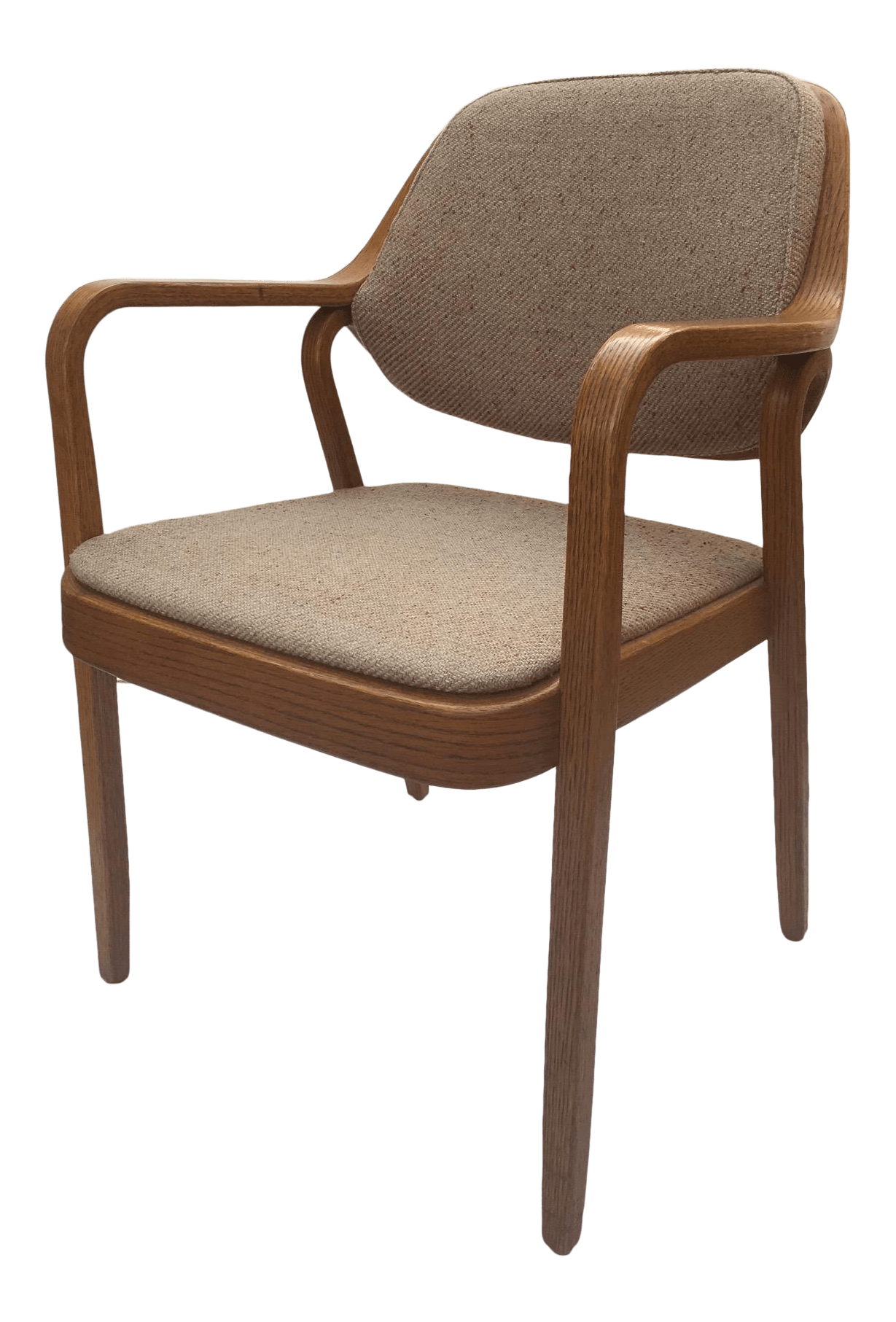 Knoll International Don Pettit For Knoll International Bentwood Arm Desk Chair