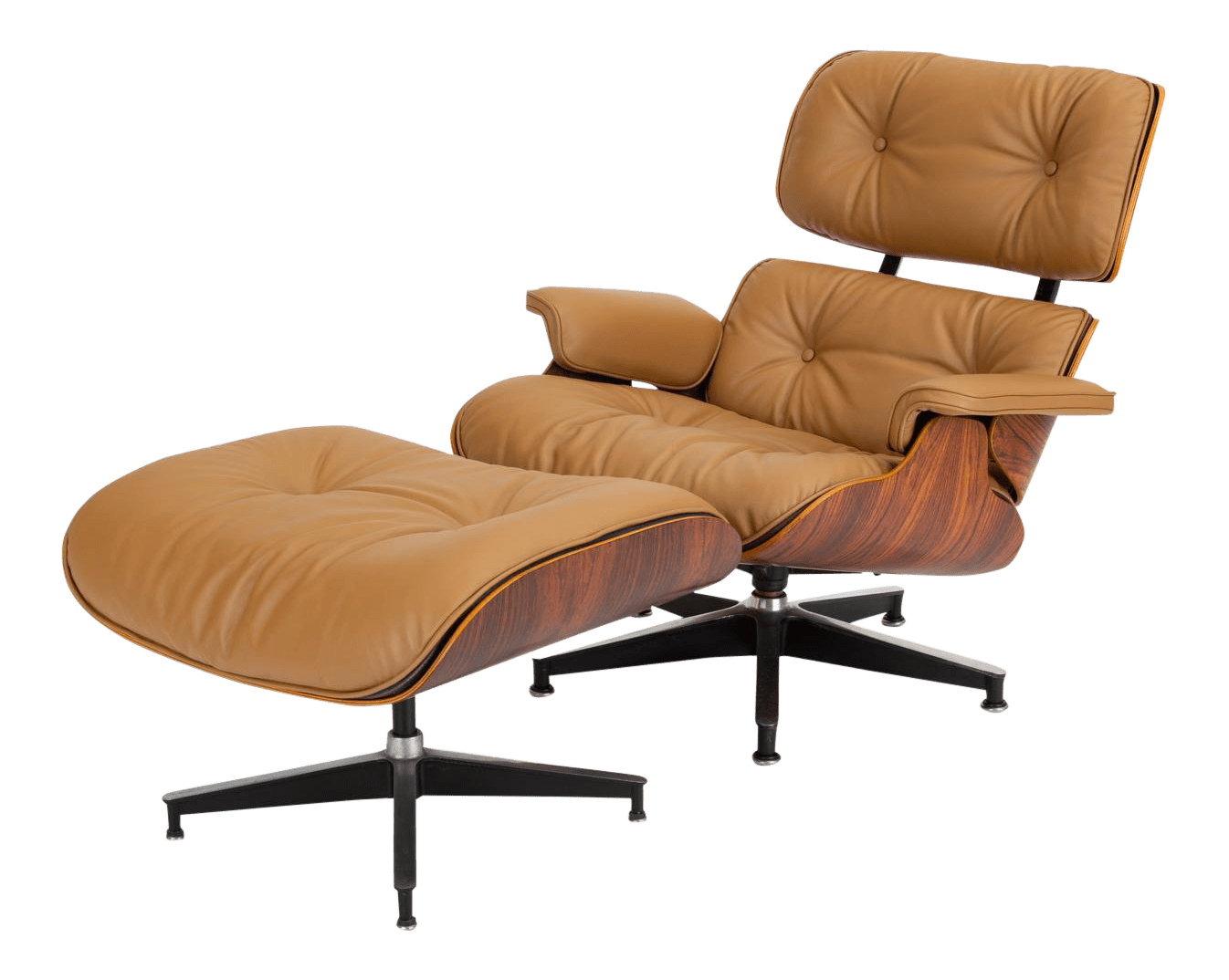 Ray And Charles Eames Ray Charles Eames For Herman Miller Third Generation Lounge Chair With Ottoman