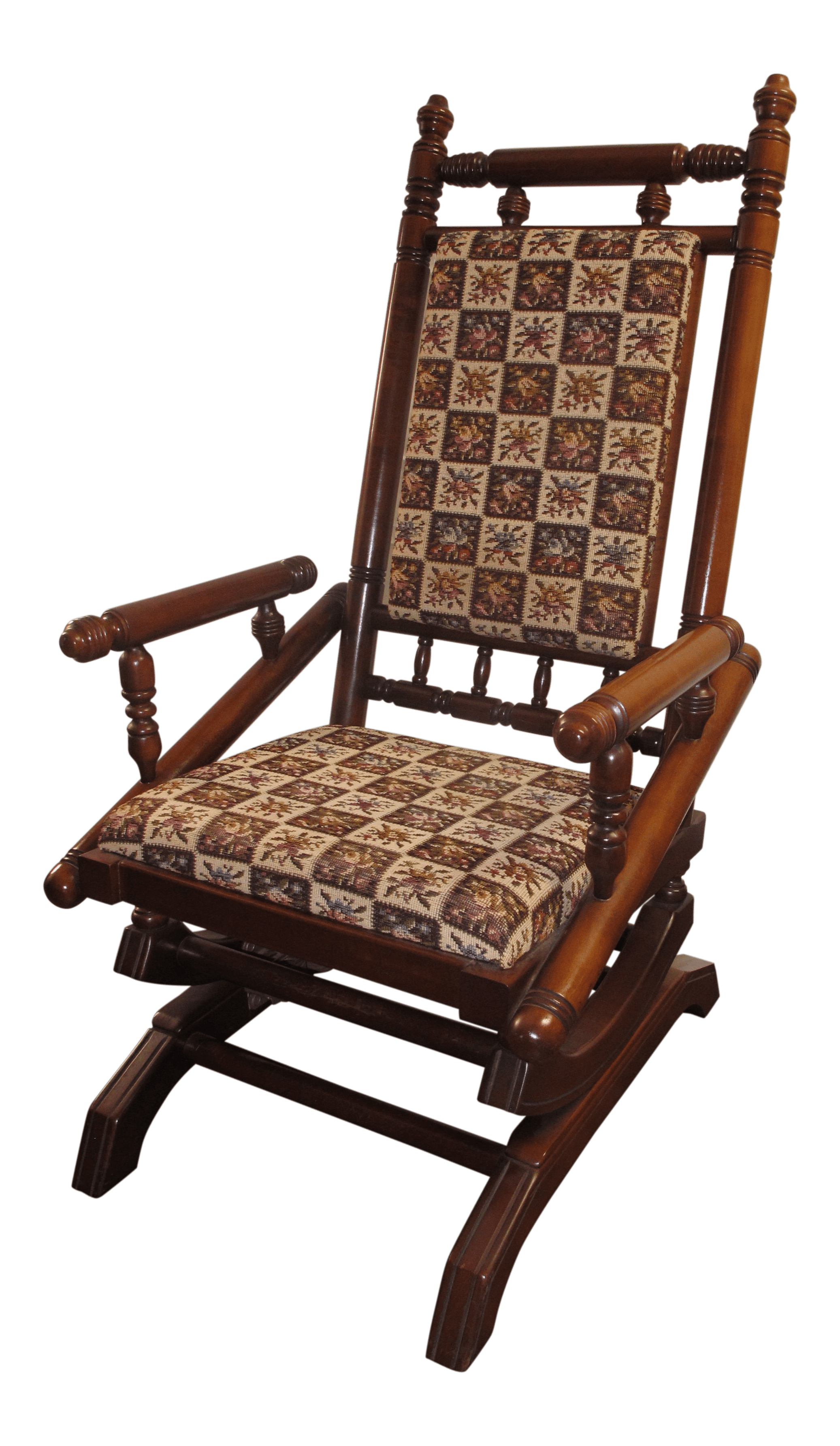 Best Place To Buy Rocking Chairs Antique Eastlake Victorian Turned Walnut Platform Rocking Chair