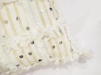 Moroccan Wedding Blanket Pillow   Chairish