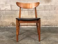 Stanley Mid-Century Danish Modern Dining Chairs / Set Of 4 ...