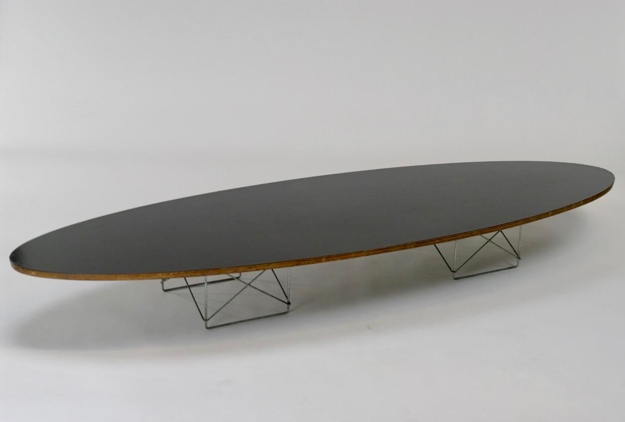 Eames Elliptical Quot Surfboard Quot Etr Coffee Table Chairish