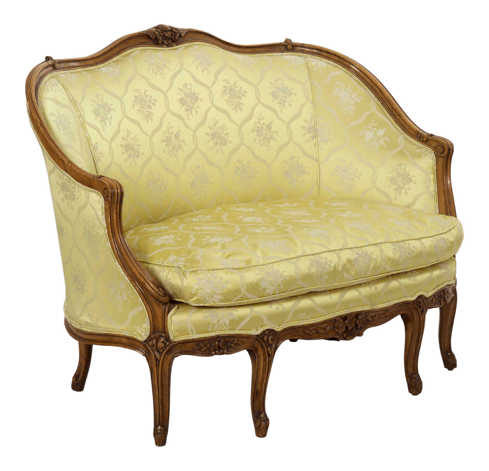 Canape Sofa 19th Century French Antique Canapé Sofa Settee In Louis Xv Style