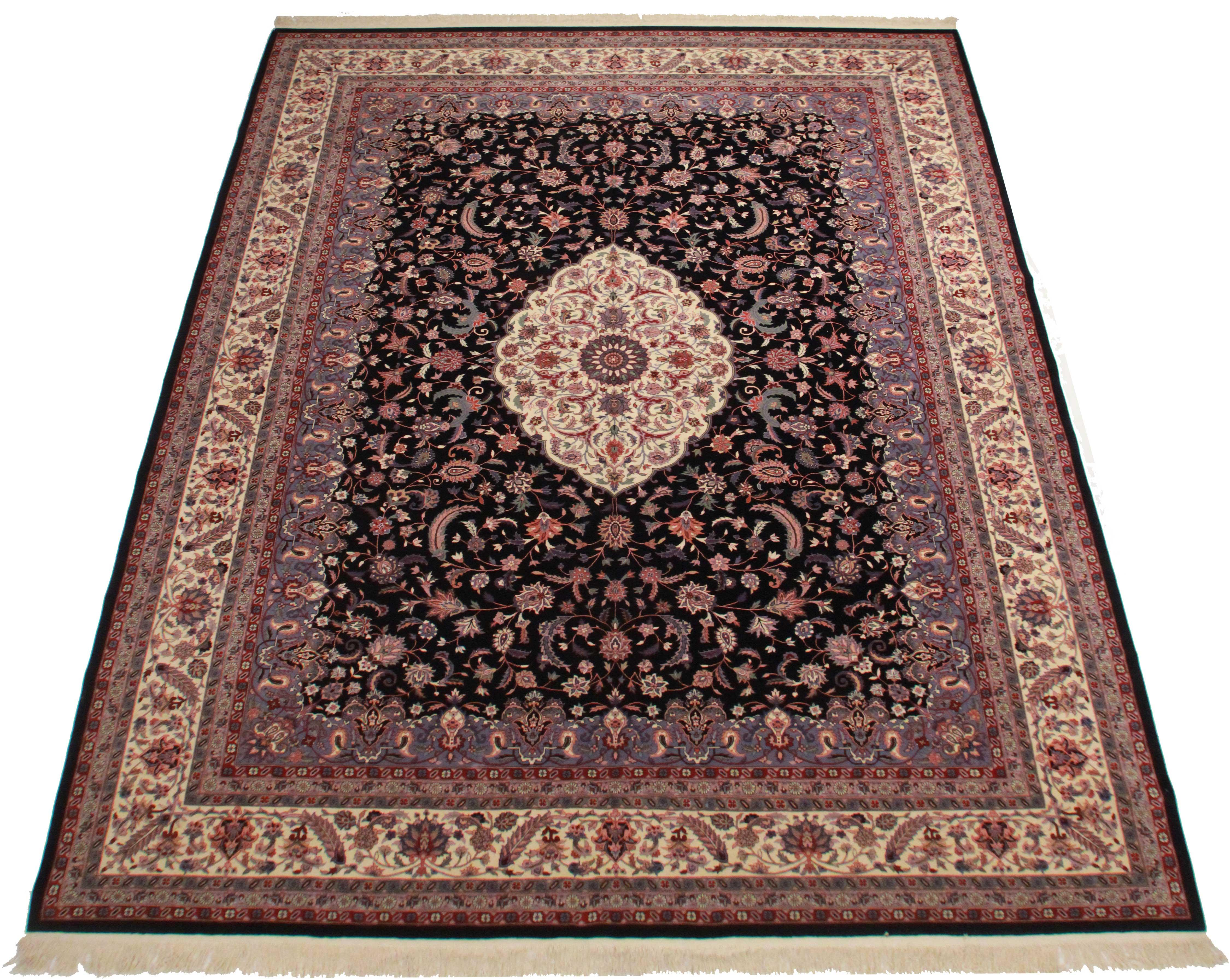 Rugsindallas Vintage Hand Knotted Wool Chinese Rug 1239 X