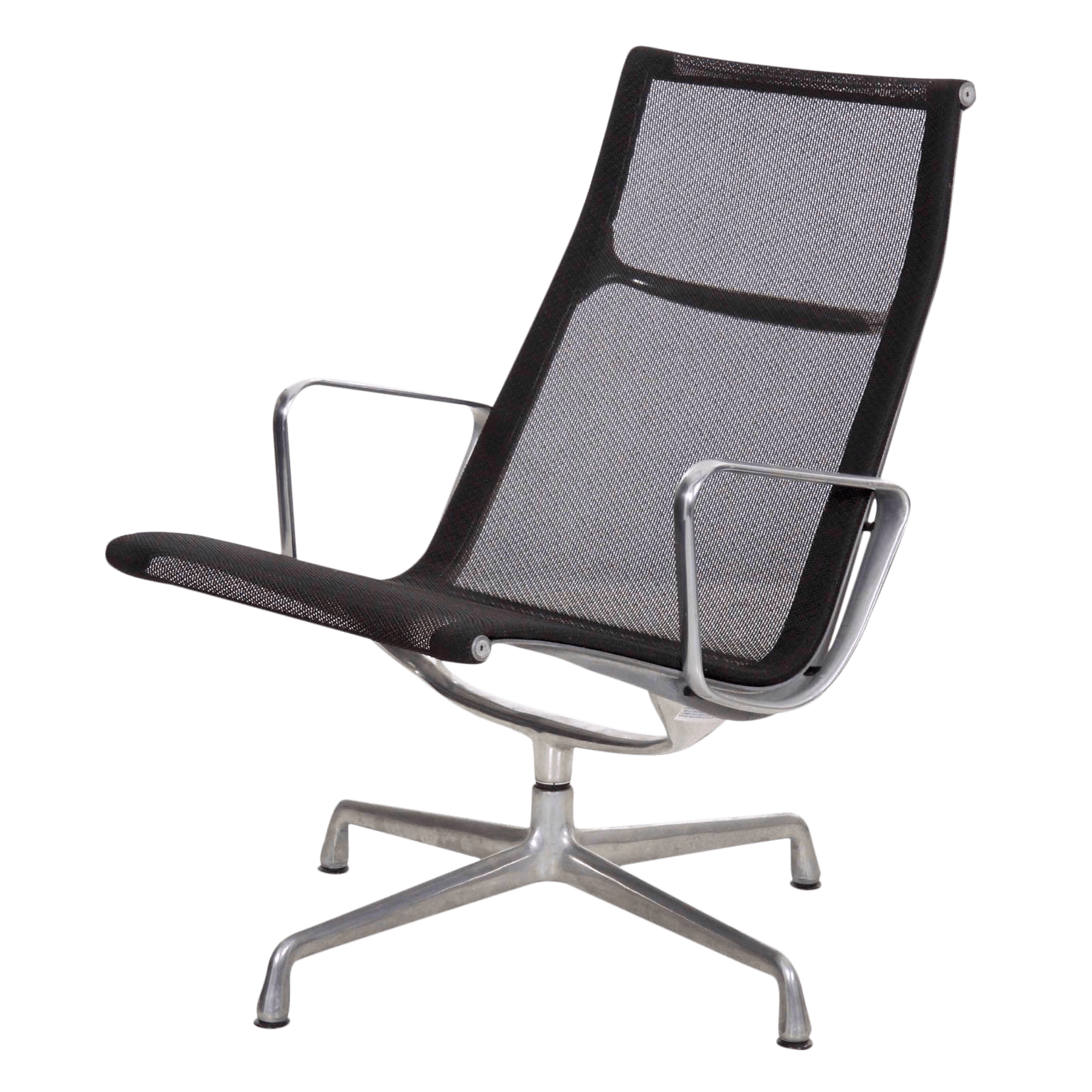 Silla Charles Eames Charles And Ray Eames For Herman Miller Aluminum Group Lounge Chair