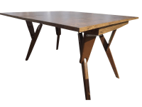 Vintage Castro Convertible Coffee Dining Table | Chairish