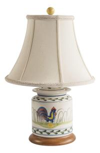 Rooster Lamp | Chairish