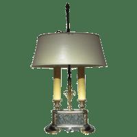 Art Deco Bouillotte Table Lamp | Chairish