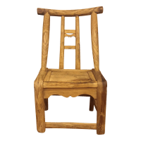Primitive Small Wooden Chair | Chairish
