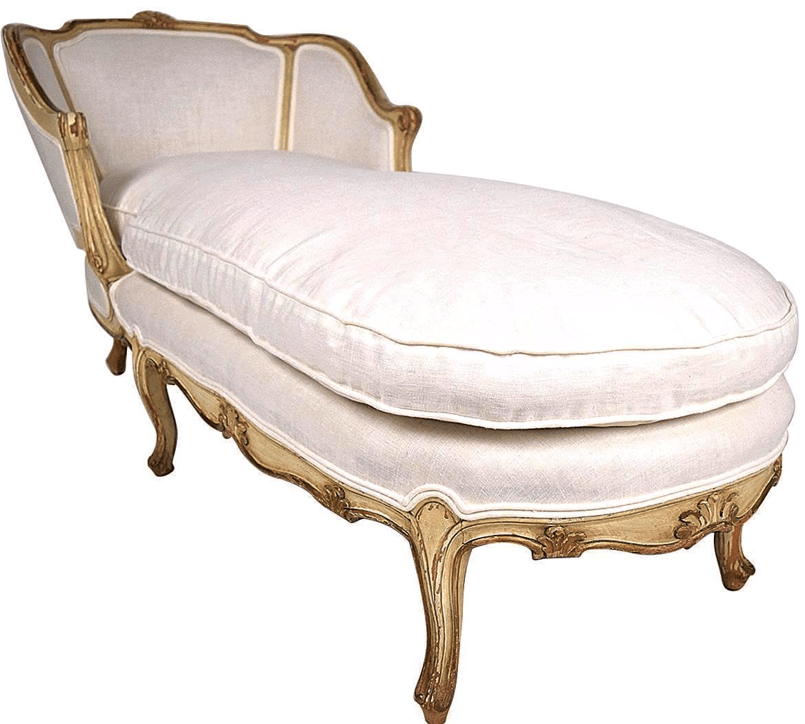 French Chaise 19th C French Louis Xv Chaise Lounge Chairish