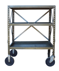 Industrial Rolling Cart | Chairish