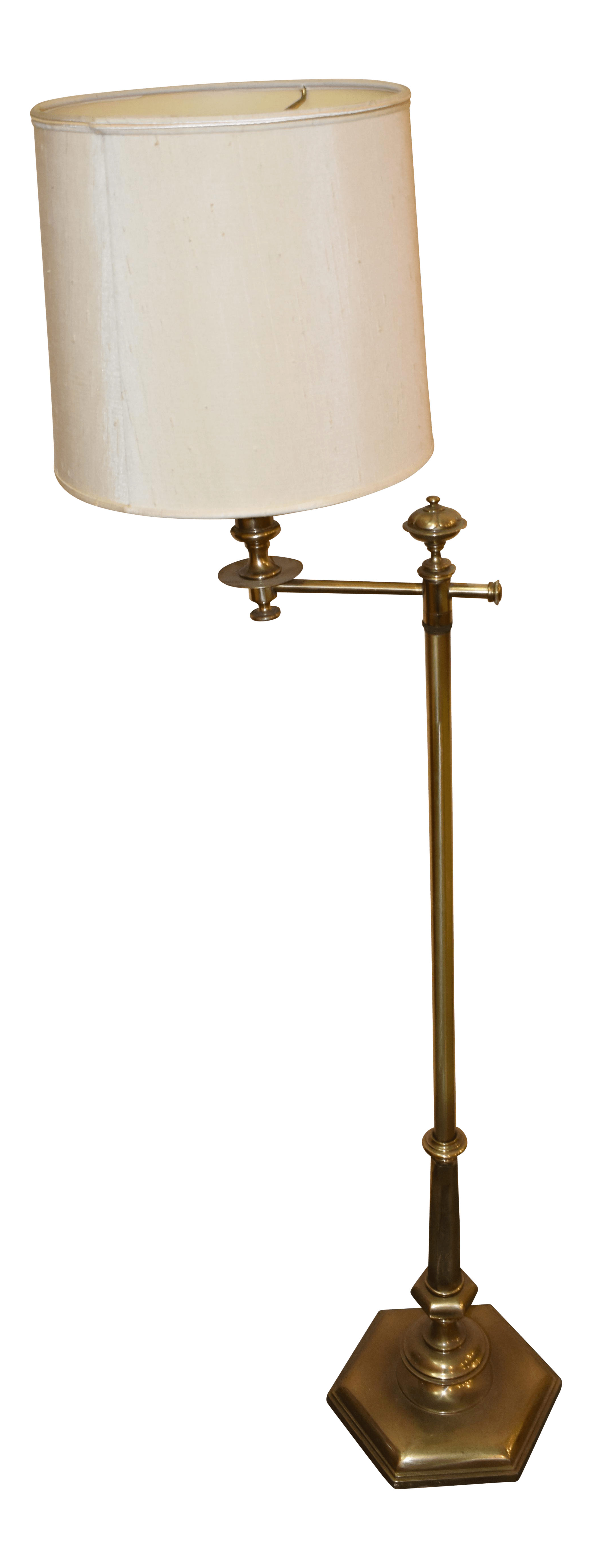 Mid Century Swing Arm Wall Lamp Mid Century Stiffel Swing Arm Floor Lamp Chairish