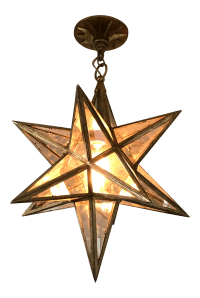 Visual Comfort Moravian Star Light Fixture | Chairish
