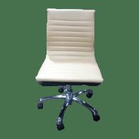 Eames Inspired Armless Task Chair | Chairish