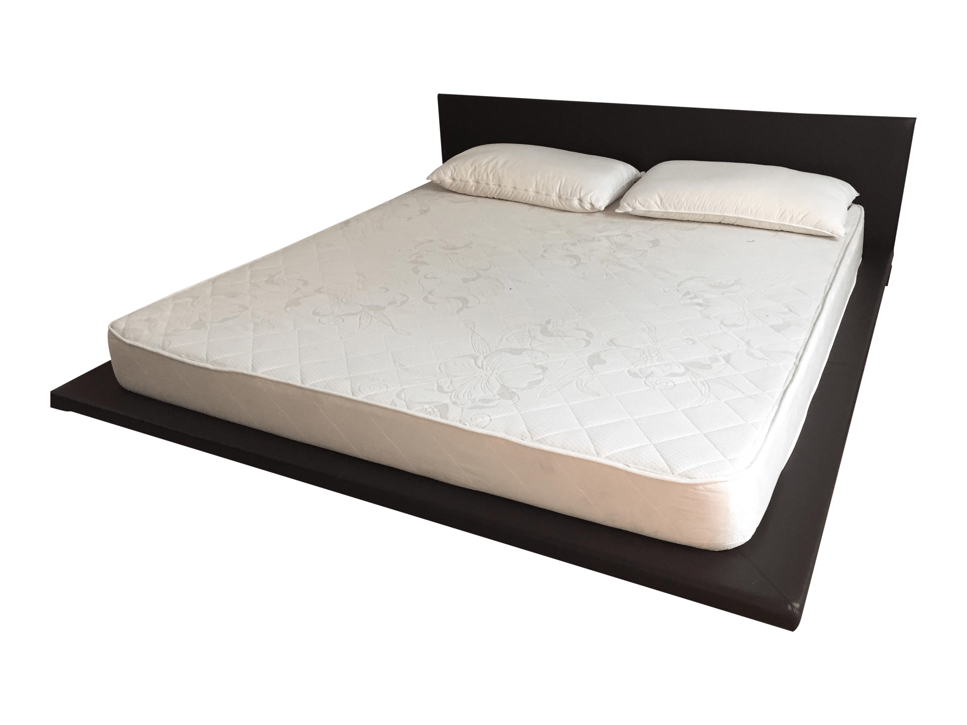 Living Divani Chemise Bed King Size Leather Platform Bed Chairish