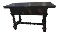 Portuguese Foldout Dining Table | Chairish