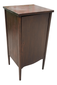 Mahogany Storage Cabinet | Chairish