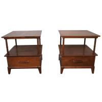 Heritage Henredon Mid Century End Tables | Chairish