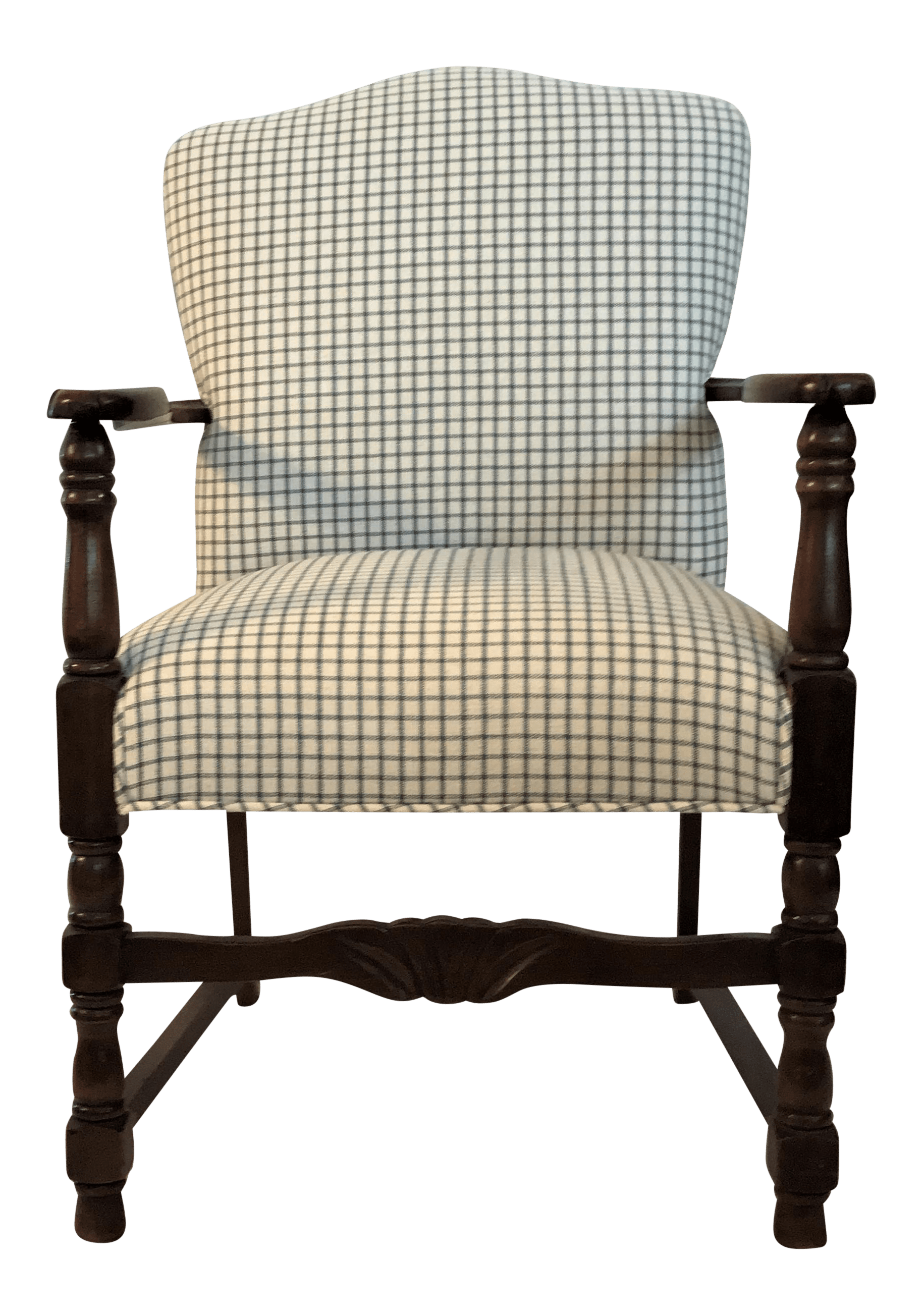 Fauteuils Customisés Vintage French Fauteuil Arm Chair Custom Upholstered