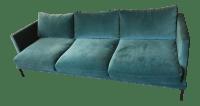 Teal Velvet Sofa | Dark Teal Velvet Sofa | Teal Blue ...