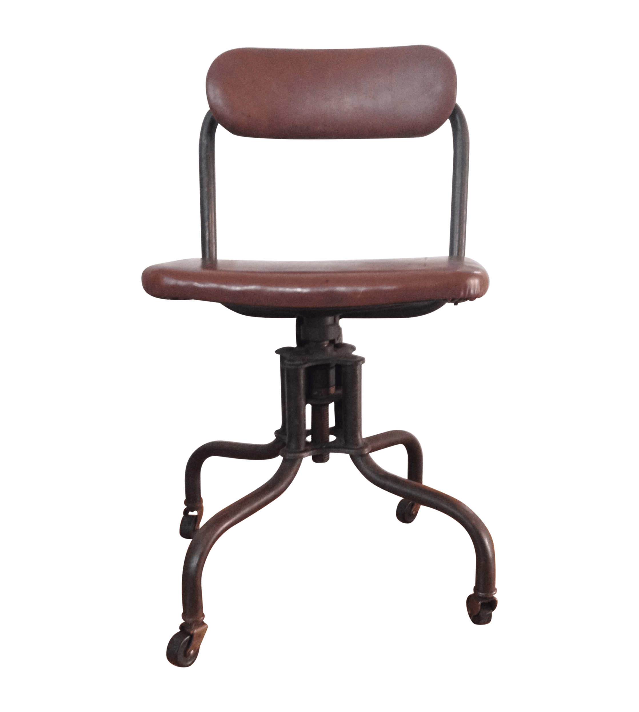 Industrial Look Chairs Industrial Age Toledo Style Typing Chair Chairish