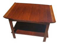 Lane Mid-Century Danish Walnut End Table | Chairish